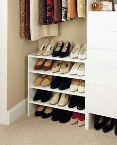 Furniture: Closet Shoe Coat Hat Racks You Can Create A Shelf Two Three Or  Four Levels To Withstand A Lot Of Shoes You Need Ikea Shoes Rack White Wooden  Shoe ...