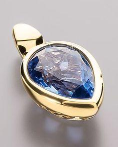 Sogni d'oro Gold-Anhänger mit Fluorit - #schmuck #jewellery #sognidoro #sogni #d´oro #pendant #anhänger