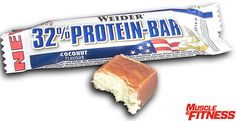 32 Protein Bar - Weider UK Coconut for sale Protein Bars, Muscle Fitness, Free Uk, Coconut, Candy, Health, Meme, Box, Amazing