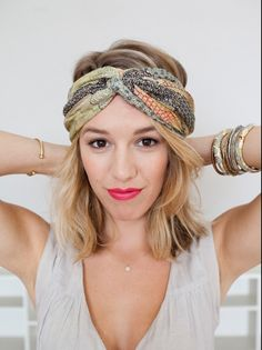 How To : Twist turban with a scarf http://www.refinery29.com/helmet-hairstyles/premiumslideshow#slide-29