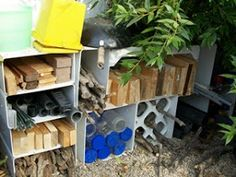 let the children play: How do you organise your loose parts outdoors?
