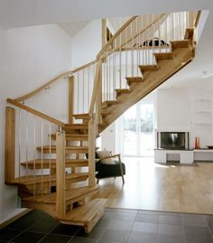 Walk through staircase