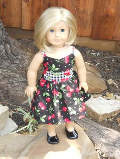 18 Inch American Girl Doll Clothes Sweet Cherry by TCsTreasures, $10.00