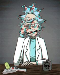 Glitchy Rick((Rick and Morty)) Related Post 《Rick and Morty / Mr. Meeseeks》 Yaoi images of Rick and Morty (Rick × Morty). Rick and Morty season Cartoon Wallpaper, Trippy Wallpaper, Cartoon Cartoon, Rick Und Morty Tattoo, Rick I Morty, Trippy Rick And Morty, Rick And Morty Poster, Dope Wallpapers, Wallpaper Wallpapers