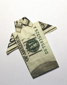 origami with money