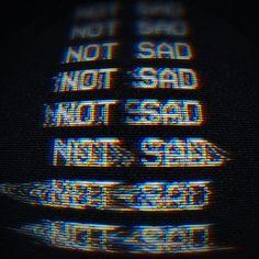 i'm not gonna be sad glitch Vhs Glitch, Glitch Art, Glitch Image, Vaporwave, Uicideboy Wallpaper, Cover Art, Web Design, Graphic Design, Retro Design