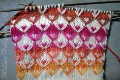 Knitting Charts, Knitting Socks, Knitting Stitches, Stitch Patterns, Knitting Patterns, Mittens Pattern, How To Purl Knit, Yarn Crafts, Handicraft