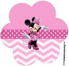 Mickey Mouse Hands or Gloves Templates. Minnie Mouse Rosa, Minnie Mouse Party, Mouse Parties, Birthday Cards For Mom, Bday Cards, Minnie Birthday, Birthday Balloons, Birthday Kids, Party Kit