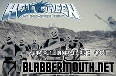 HELLOWEEN Premiere Video for 'My God-Given Right' via Blabbermouth.net!  HELLOWEEN are one of the most influential and internationally successful acts of the global metal scene. With the release of their 15th studio album My God-Given Right, due on May 29th (EU), June 1st (UK) and June 2nd (US), the pumpkin heads are set to further cement their title as the founding fathers of German melodic speed metal.  http://www.blabbermouth.net/news/helloween-video-premiere-my-god-given-right/