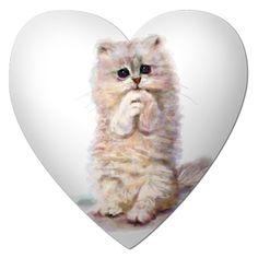 cute drawn kitty