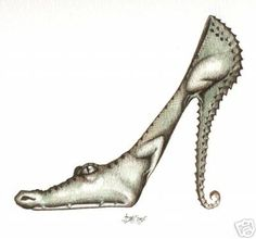 crocshoe by HOMELYVILLAIN.deviantart.com on @deviantART
