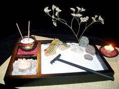 Jardines zen en miniatura  Decoracion