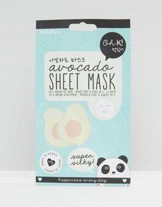 Korean Beauty Sheet Masks Moisturizer Oh K! Oh K Avocado Super Silky Sheet Mask An Affiliate Link
