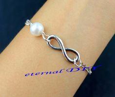Jewelry bracelet  infinity bracelet jewelry fashion by eternalDIY, $1.99