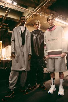 #LCM Backstage at TOPMAN Design AW17