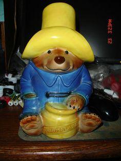 Paddington Bear Cookie Jar