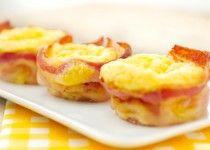 Ei - bacon muffins-Voedzaam en Snel