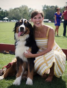 if you blur your eyes this could be me with my future berner....