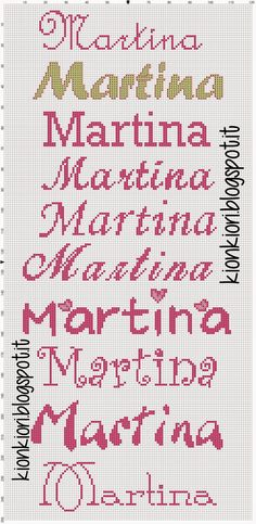 Agata, Hélène Marie, Martina e Mariano Macrame Bracelet Diy, Alphabet, My Bookmarks, Simple Cross Stitch, Christmas Projects, Hama Beads, Pattern Art, Diy For Kids, Cross Stitch Patterns