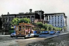 Since 2010, San Francisco photographer Shawn Clover has been working on a striking series of then and now composite photos of the 1906 San Francisco earthquake. Clover collected archival photos of the earthquake's aftermath. He then replicated the photos himself, down to the location, camera position and focal length (to the best of his estimation). The resulting composite photos hauntingly combine stark images of the earthquake's devastation with modern scenes of life in San Francisco.