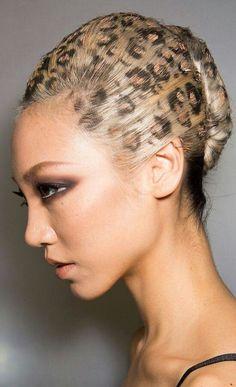 Hair-stencilling (Saç-Baskı) Modelleri
