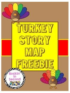"""FREE LANGUAGE ARTS LESSON - """"Turkey Story Map FREEBIE"""" - Go to The Best of Teacher Entrepreneurs for this and hundreds of free lessons.  PreKindergarten - 5th Grade  #FreeLesson  #LanguageArts  http://www.thebestofteacherentrepreneurs.net/2014/11/free-language-arts-lesson-turkey-story.html"""