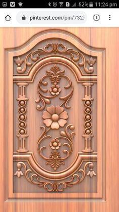 Single Door Design, Wooden Main Door Design, Wood Carving Art, Wood Art, Wooden Temple For Home, Blue Colour Images, Door Design Photos, New Images Hd, Kitchen Step Stool