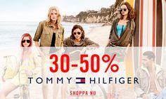 Hitta dina reafavoriter från Tommy Hilfiger: 30-50% rabatt!