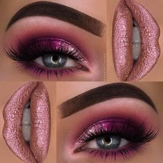 Here is another MakeUp idea but this time it is Glitter Eye MakeUp. There will be some occasions where your makeup should glitter. Here are Glitter MakeUp ideas for you to get ready for your function.