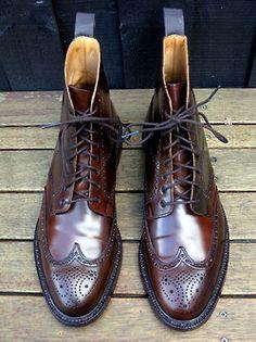 The Ralph Lauren Lindrick boot - made by Crockett...