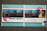 Dance Recital Scrapbook Layout... yes! need this!