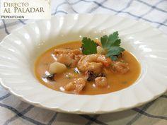 Directo al Paladar - Receta de sopa de marisco