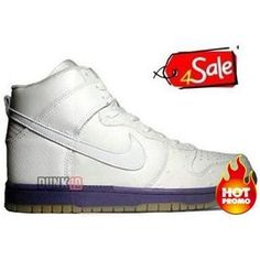 best website 543ad e1e8b Mens Nike Dunk High Deluxe Mita Edition white Hyacinth