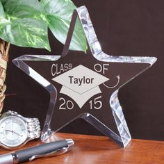 Personalized Engraved Class Of Star Keepsake