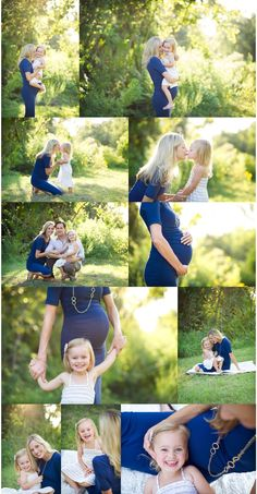 Photo ideas for a maternity/ family portrait! I'm not pregnant but these are great ideas for Saturday's portraits, with Ellianna! #familyphotography
