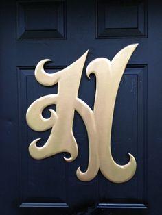 Guestbook/Sign - Wooden Door Hanger Initial H Wedding Door Hangers, Wedding Doors, Cross Door Hangers, Wooden Door Hangers, Diy Barn Door, Diy Door, Old Wooden Doors, Wooden Signs, Guest Book Sign