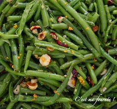 la salade d'haricot verts d'ottolenghi