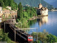 Château de Chillon Switzerland   Svizzera: turismo - guida - vacanze varie località