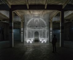 #‎Architecture in #‎Italy - #‎Installation by Edoardo Tresoldi