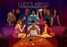 #LustsAbyss begins tomorrow...   indieTHI3VES.com/thesis