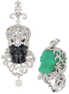 Skulled #Jewelry - Christian Dior Joaillerie 'Kings & Queens' Collection Integrates Opal, Jade, Quart (GALLERY)
