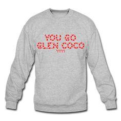 Men s  You Go Glen Coco  Ringer Tee Unisex Crewneck Sweatshirt  dc730d3aa