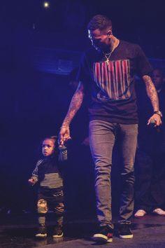 chris brown and his daughter