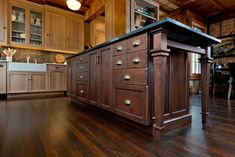 Hickory Shaker Style Cabinets Tedd Wood Fine Custom Kitchen Cabinetry Shaker Kitchen And