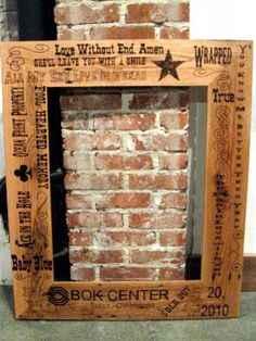 laser engraving wood picture frames and wood pictures - Wood Burning Picture Frame