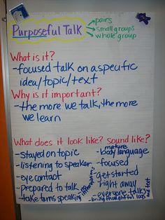 Purposeful Talk