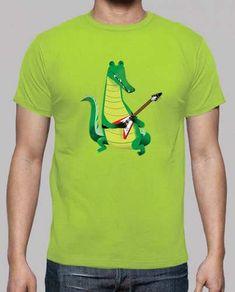 Prezzi e Sconti: #Crocodile rock in verde  ad Euro 20.70 in #Tostadora #T shirt uomo