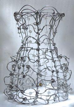"""""""Ruffles"""" - sculpture en suspension ou posée"""