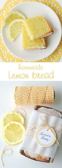 If you love lemons you MUST make this delicious Lemony Lemon Bread!