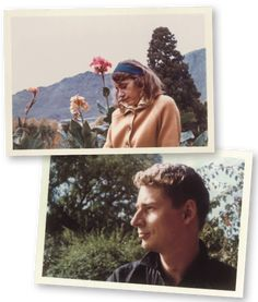 Famous photos of Ingrid Jonker and André Brink